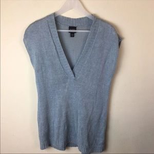 Eileen Fisher Petite Small Blue Tunic